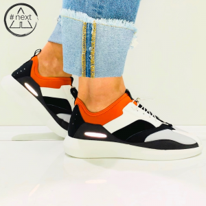 Fessura - Twin Complex - White Orange Black - FW 2019/20