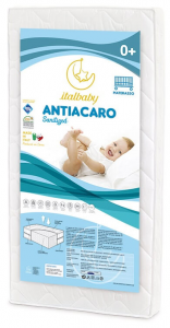 Lettino Flash+piumone+materasso Italbaby