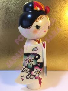 Bambola Kokeshi - Bellezza dei fiori di Ciliegio (Sakurakomachi)