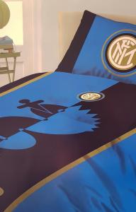 Copripiumino e federa 1 piazza INTER neroazzurro Official Product