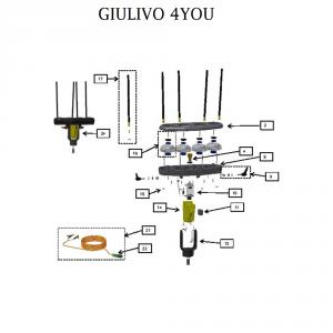 Ricambi per Giulivo 4you