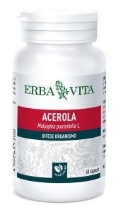 ERBAVITA ACEROLA - INTEGRATORE DIFESE ORGANISMO 550 MG 60 CAPSULE