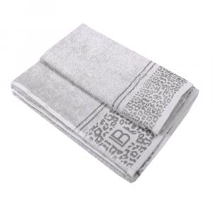 Asciugamano e ospite in spugna LAURA BIAGIOTTI Assenzio grigio ricamato