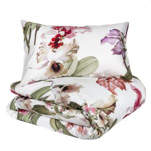 FAZZINI Bettbezug-Set Maxi double mit Kissenbezug IRIS floral Satin