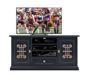 Mobile TV 130 cm 'Collezione You' Black Gold