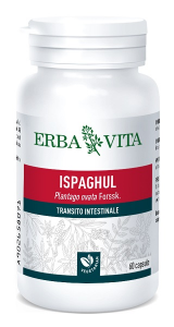 ISPAGHUL - INTEGRATORE TRANSITO INTESTINALE 500 MG 60 CAPSULE ERBAVITA