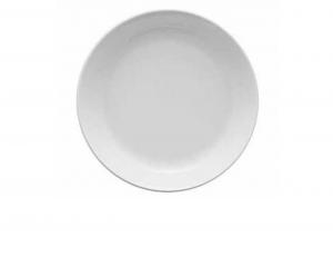 Piatto fondo porcellana bianca cm.4,3h diam.24