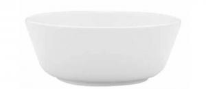 Coppa frutta insalata porcellana bianca cm.6,2h diam.16,5