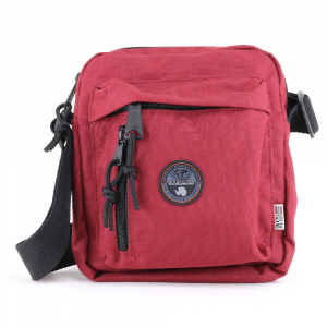 Shoulder bag Napapijri HOYAL CROSS N0YHIO R85 RHUBARB RED