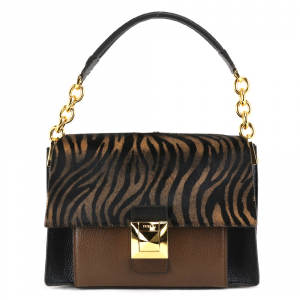 Shoulder bag Furla DIVA 1033635 TONI NATURALI+NERO