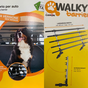 WALKY BARRIER divisorio regolabile per auto