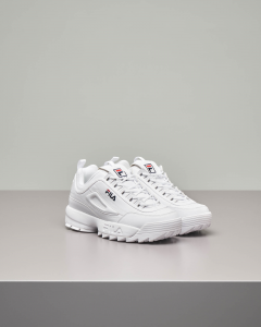 Sneakers Disruptor low bianche