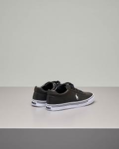 Sneakers Hanford nere in pelle