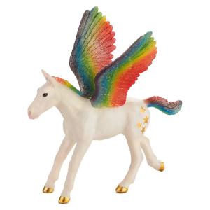 Statuina Animal Planet Cavallo alato Pegaso Puledro Arcobaleno