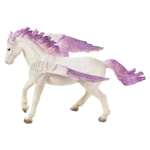 Statuina Animal Planet Cavallo alato Pegasus viola