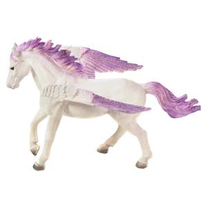 Statuina Animal Planet Cavallo alato Pegasus viola