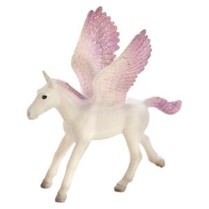 Statuina Animal Planet Cavallo alato Pegaso Puledro Viola