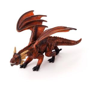 Statuina Animal Planet Drago sputafuoco Con Mascella Mobile