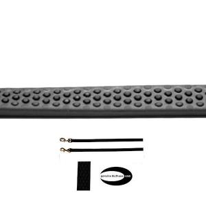 Guinzaglio gappay gommata nero 1.5m