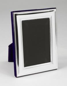 Cornice portafoto piccola in argento cm.5x8h
