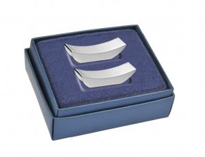 Appoggiacoltelli classico set da 2 pz silver plated