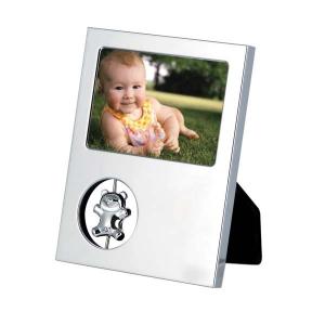 Portafoto orsacchiotto in silver plated