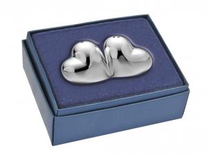 Sale e pepe cuore argento silver plated