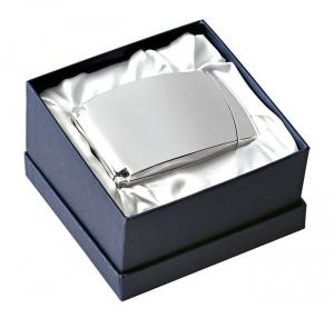 Orologio portafoto conchiglia silver plated cm.19x1x7h