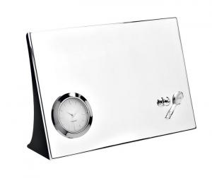 Orologio da tavolo Tennis silver plated
