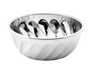 Ciotola bomboniera in silver plated cm.10,5x15x4h diam.10,5