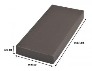 Portachiavi legno cuore cm.7,1x3,6x1h