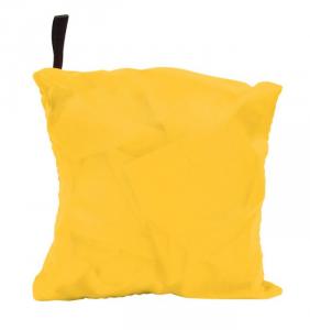 Shopping bag gialla cm.47x40x0,5h