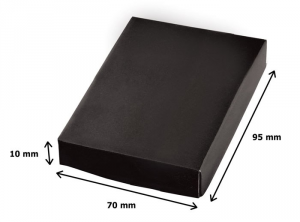 Portachiavi macchinina satinato cm.6,5x5,2x1h