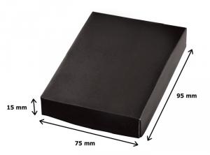 Portachiavi triangle satinato cm.7x4,5x1h