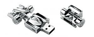 USB Formula 1 8gb cm.6,5x3,2x1,5h