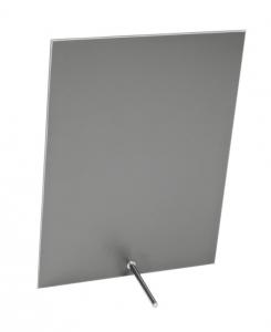 Specchio rettangolare con supporto verticale