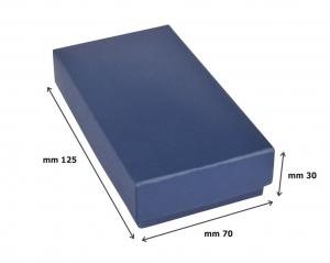 Portachiavi oval satinato cm.9x3,4x0,9h