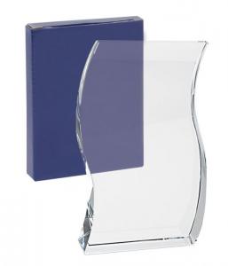 Trofeo pergamena vetro bianco