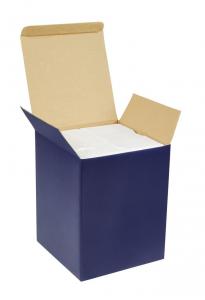 Giostra bimbo azzurra con carillon cm.8x8x17h