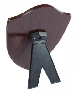 Crest scudo legno noce MDF