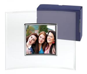Portafoto glass square