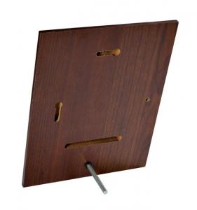 Crest rettangolare noce no box