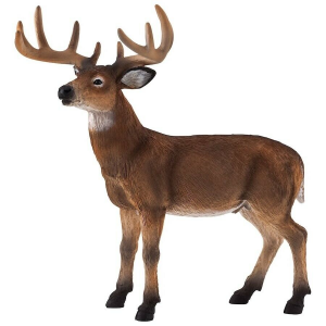 Statuina Animal Planet Cervo maschio dalla coda bianca