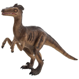 Statuina Animal Planet Dinosauro Velociraptor