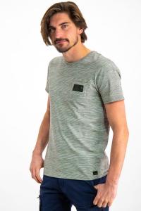 T-Shirt Verde Con Taschino Uomo