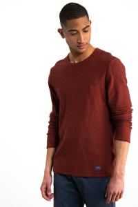 Maglione Rosso Girocollo Uomo
