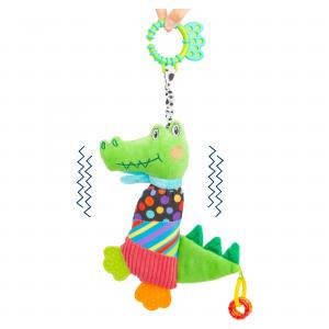 Giocattolo per bebè Coccodrillo di stoffa