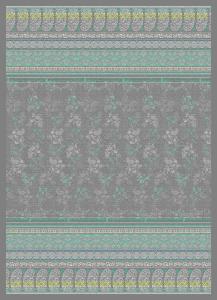 Bassetti Plaid Granfoulard 155x220 cm MONTE ROSA v. 7 gray
