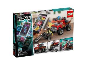 LEGO HIDDEN SIDE LO STUNT TRUCK DI EL FUEGO 70421