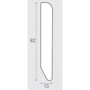 MM 82X13 ML 2.40 -  BATTISCOPA IMP. NOCE NAZIONALE